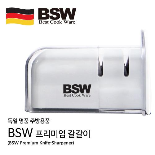 BSW 프리미엄 스테인레스 칼갈이(리뉴얼) BS-KF / 칼갈이, 투명 케이스