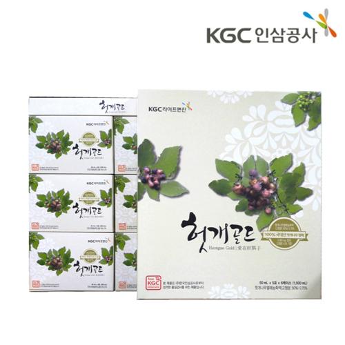 [한국인삼공사] 헛개골드 (50ml*30포)