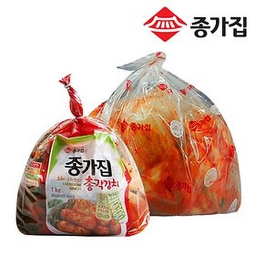 종가집 기획 맛김치백두5kg+총각1kg 온라인 1016839