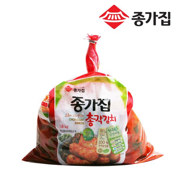종가집 오래맛있는총각1.8kg 103219