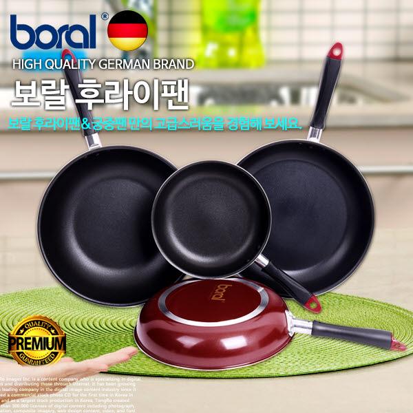BoRal 보랄 자일란플러스 코팅 후라이팬 28cm(궁중)