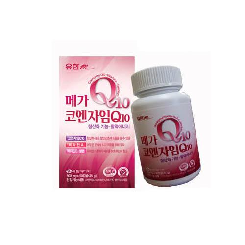 유한메디카유한m 메가 코엔자임Q10 /500mg*90캡슐(45g)