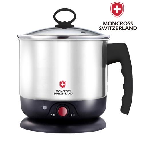 스위스몽크로스 1.5L 스테인레스 멀티포트 (버튼식)