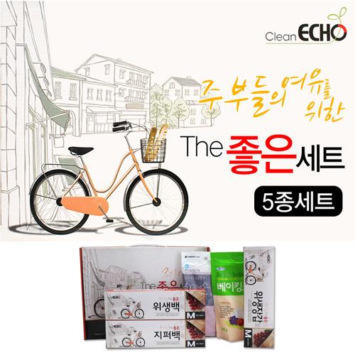 THE 좋은 5종세트*10ea 지퍼백+위생백+LD장갑+베이킹소다+고무장갑