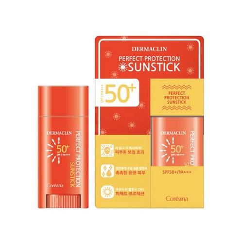코리아나 더마클린 퍼펙트 프로텍션 선스틱 SPF50+/PA+++ 15g
