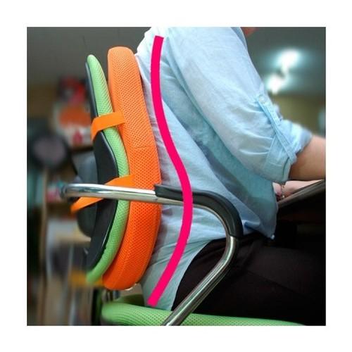 기댄휴 채워주는 바른자세 의자등쿠션 프리미엄레자 S00002
