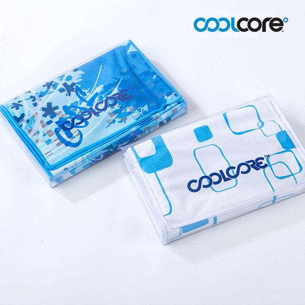 쿨코어(COOLCORE) 쿨코어 냉각 타월 (중형)1P+지퍼케이스